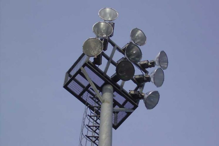 iluminación de estadios deportivos